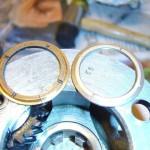 Figur 4. Planetgearet i Overdrive, man kan se revnen i trust washer til venstre lige over tandhjulet