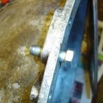 Figur 6. Specialpasbolt til at sikre korret placeret gearkasse